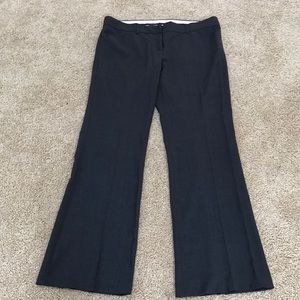 Theory size 12, dark grey wool blend work pants